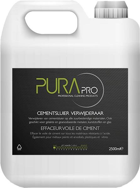 Purapro.be - Cementsluier verwijderaar