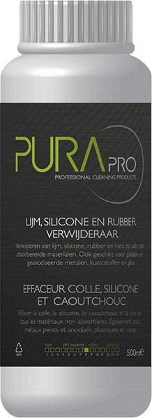 Purapro.be - Lijm, silicone en rubber verwijderaar
