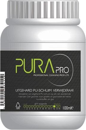 Purapro.be - Uitgehard PU-schuim verwijderaar
